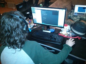 And this is me learning to code html (i think)