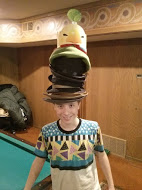 This is jackie with alll my hats